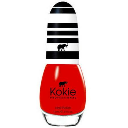 Kokie Professional Nail Polish, Fearless, 0.54 fl oz](Black And Yellow Halloween Nails)