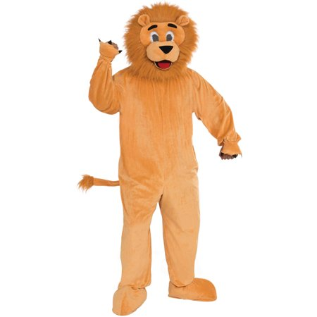 Lion Mascot Adult Halloween Costume - One Size