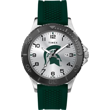 Timex - NCAA Tribute Collection Gamer Crimson Men's Watch, Michigan State Spartans