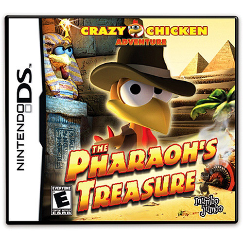 Image of crazy chicken - pharaoh's treasure - nintendo ds