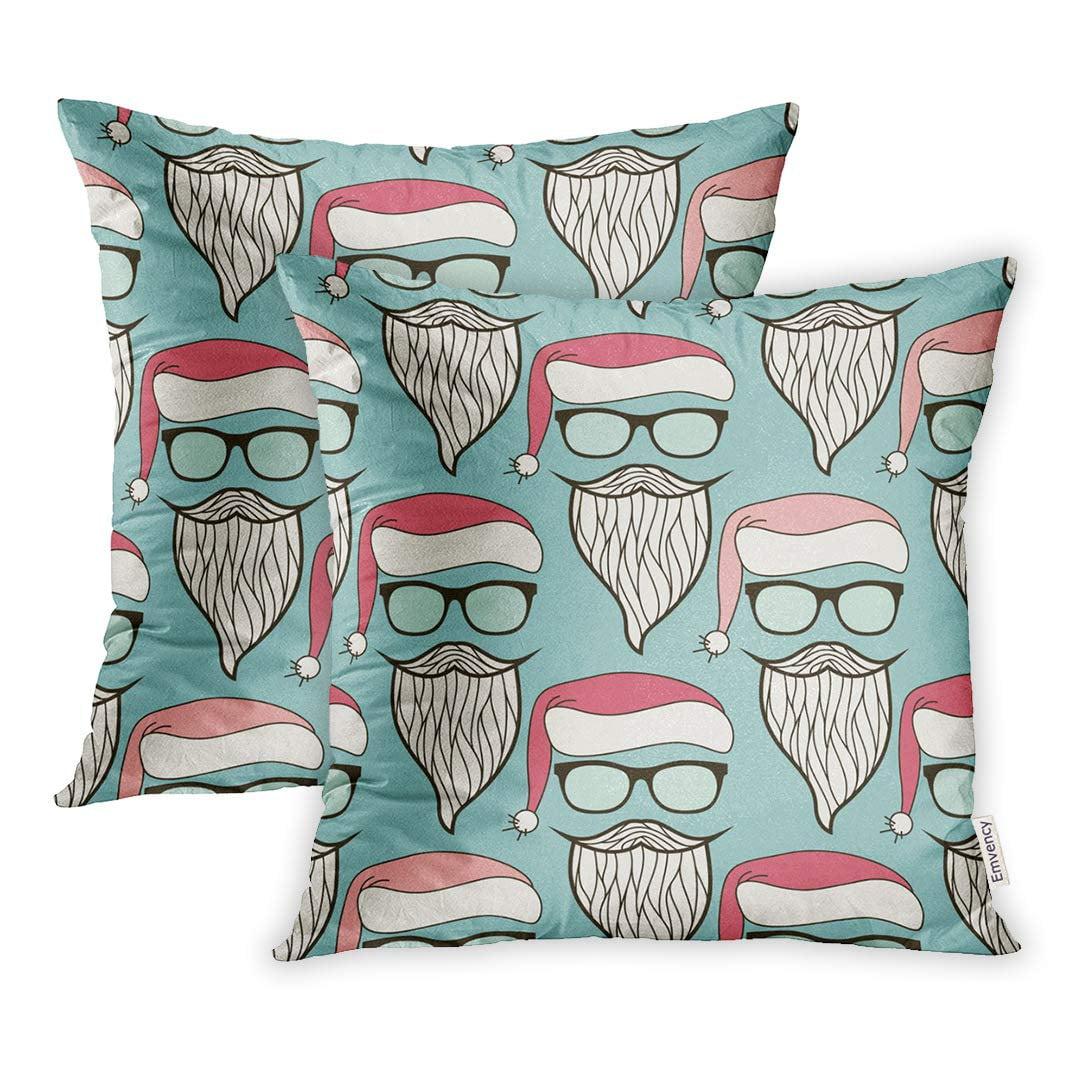 YWOTA Modern Hipster Santa Claus Sunglasses Hat Mustache ...