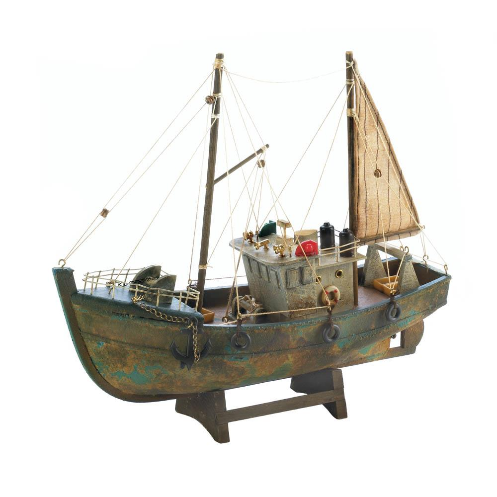 Accent Plus Fishing Boat Model