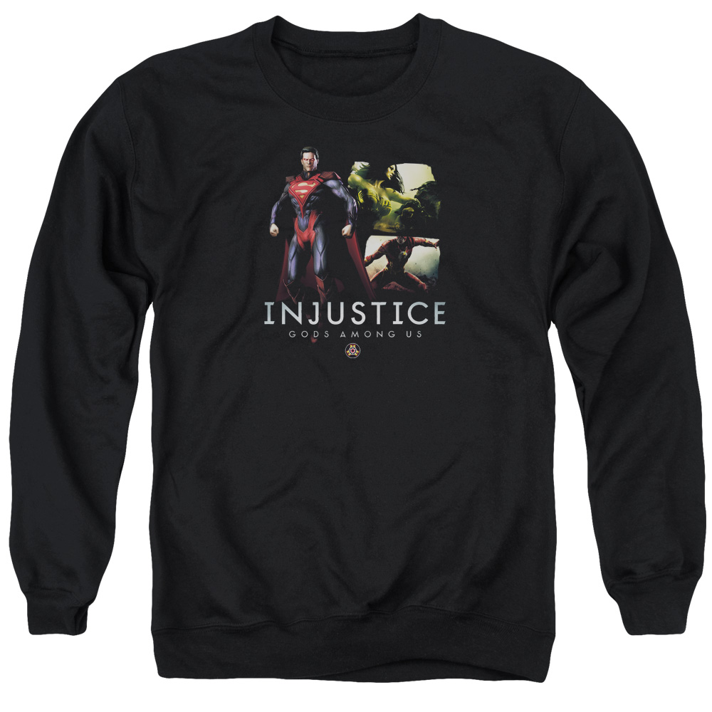 Injustice Gods Among Us Supermans Revenge Mens Crewneck Sweatshirt