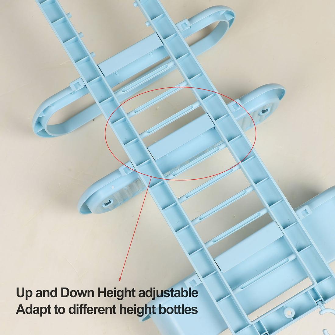 Plastic 3 Tier Hanging Bathroom Tub Shower Shelf Organizer for Bathroom Blue - image 1 of 9