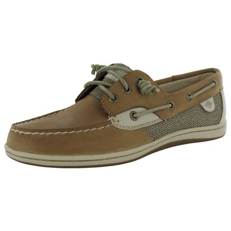 - Sperry Womens Songfish Core Slip On 3 Eye Lace Up Boat Shoes