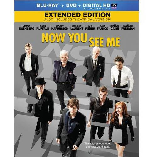 Now You See Me (Blu-ray + DVD + Digital HD) (With INSTAWATCH) (Widescreen)