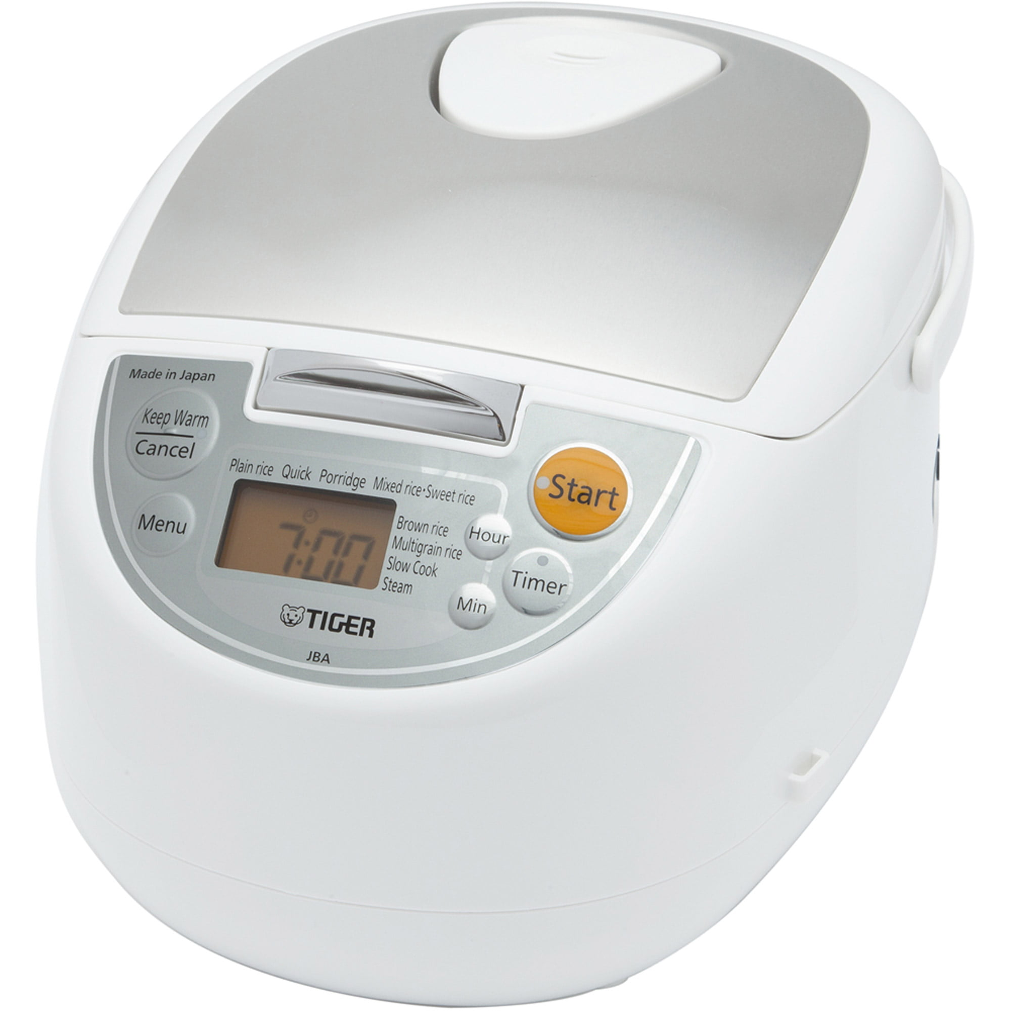 Tiger rice cooker 5 5 Go pot pressure IH urban black recipe with cooked