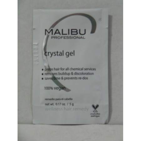 Malibu Crystal Gel Wellness Hair Remedy, 0.17 oz-Pack of (Malibu Bay)