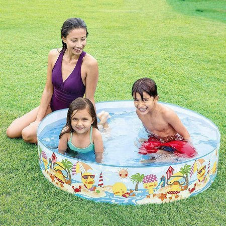 Kiddie Swimming Pool Outdoor Sports Water Play Toys for Children - image 3 de 7
