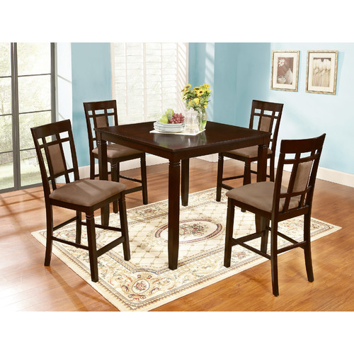 bunker hill 5 piece counter height dining set espresso download