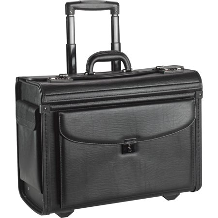 Lorell, LLR61612, Rolling Laptop Catalog Case, 1, Black (Laptop Catalog Case)