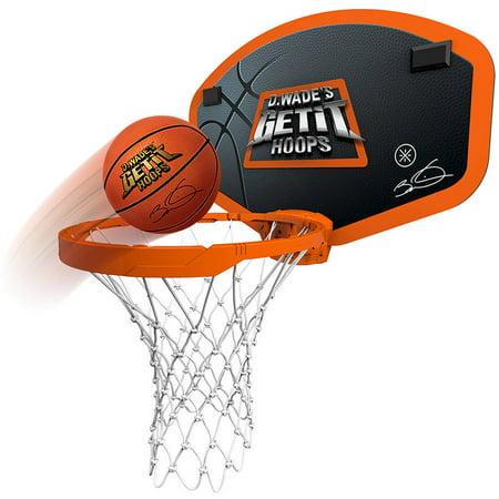 D. Wade's Get It Hoops Indoor Wireless Mini Basketball Hoop - As Seen on TV NEW!