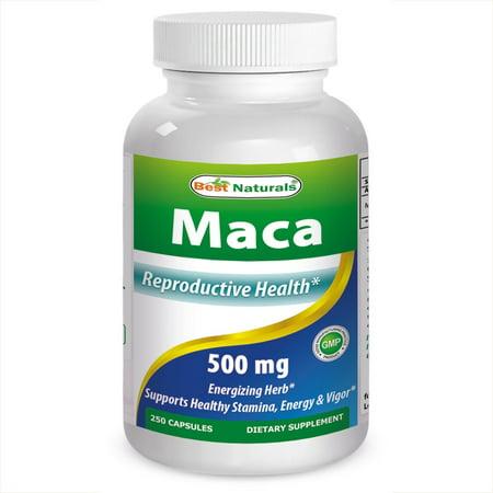Best Naturals Maca 500 mg, 250 Ct