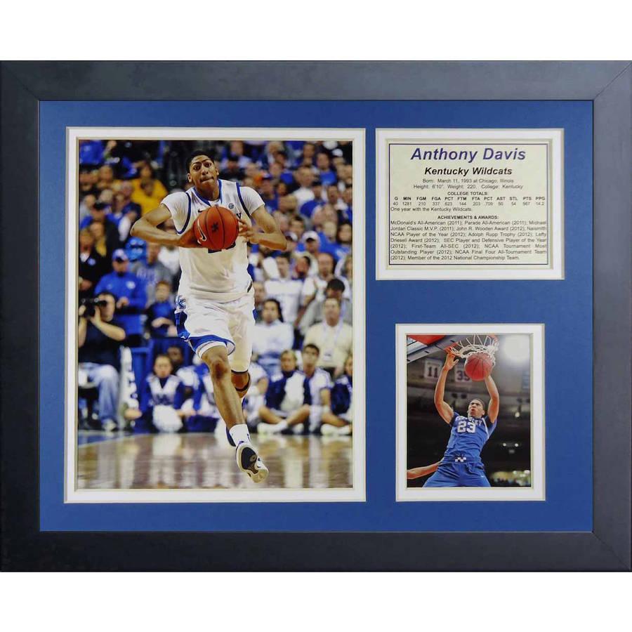 "Legends Never Die Anthony Davis Kentucky Wildcats Collage Photo Frame, 11"" x 14"""