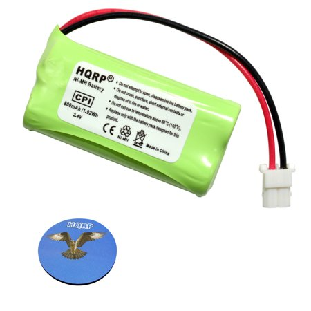 HQRP Cordless Phone Battery for Vtech CL83363 BT183342 / BT283342 TL90071 CL83113 CL83263 CL83313 SN6196 SN1196 SN1197 SN6146 SN6146-2 SN6147 SN6147-2 CL83213 SN6196-2 SN6197 SN6197-2 + HQRP Coaster ()