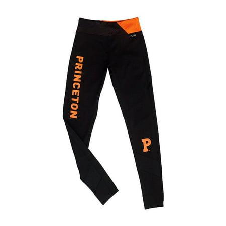 Princeton University Yoga Legging with Mesh Insert- Tigers (Princeton University Halloween Party)