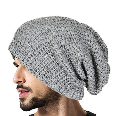 c5f237cae48 TSV - Mens Women Winter Warm Beanie Knitting Hat Skull Baggy Cap Slouchy Knit  Unisex - Walmart.com