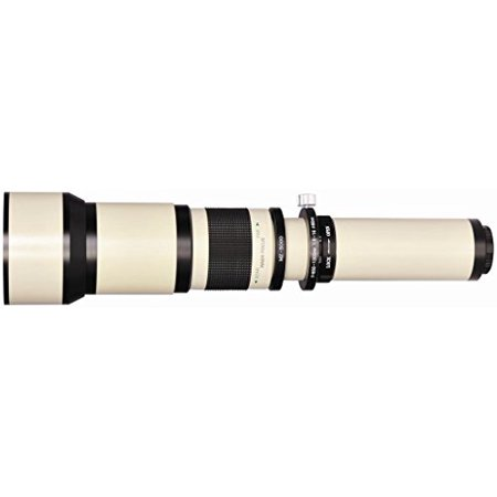 650-1300mm High Definition Telephoto Zoom Lens for Canon T1i, T2i, T3, T3i (Zoom For Canon T3i)