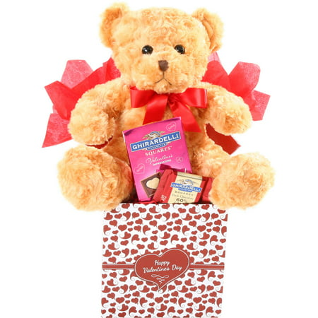 Alder Creek True Love Valentine Gift Basket, 3 pc