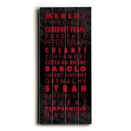 Drew Wine (ArteHouse Decorative Wood Sign