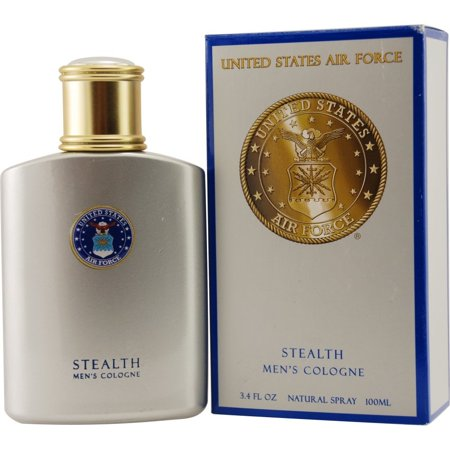 US Air Force Stealth Cologne Spray for Men, 3.4 Ounce