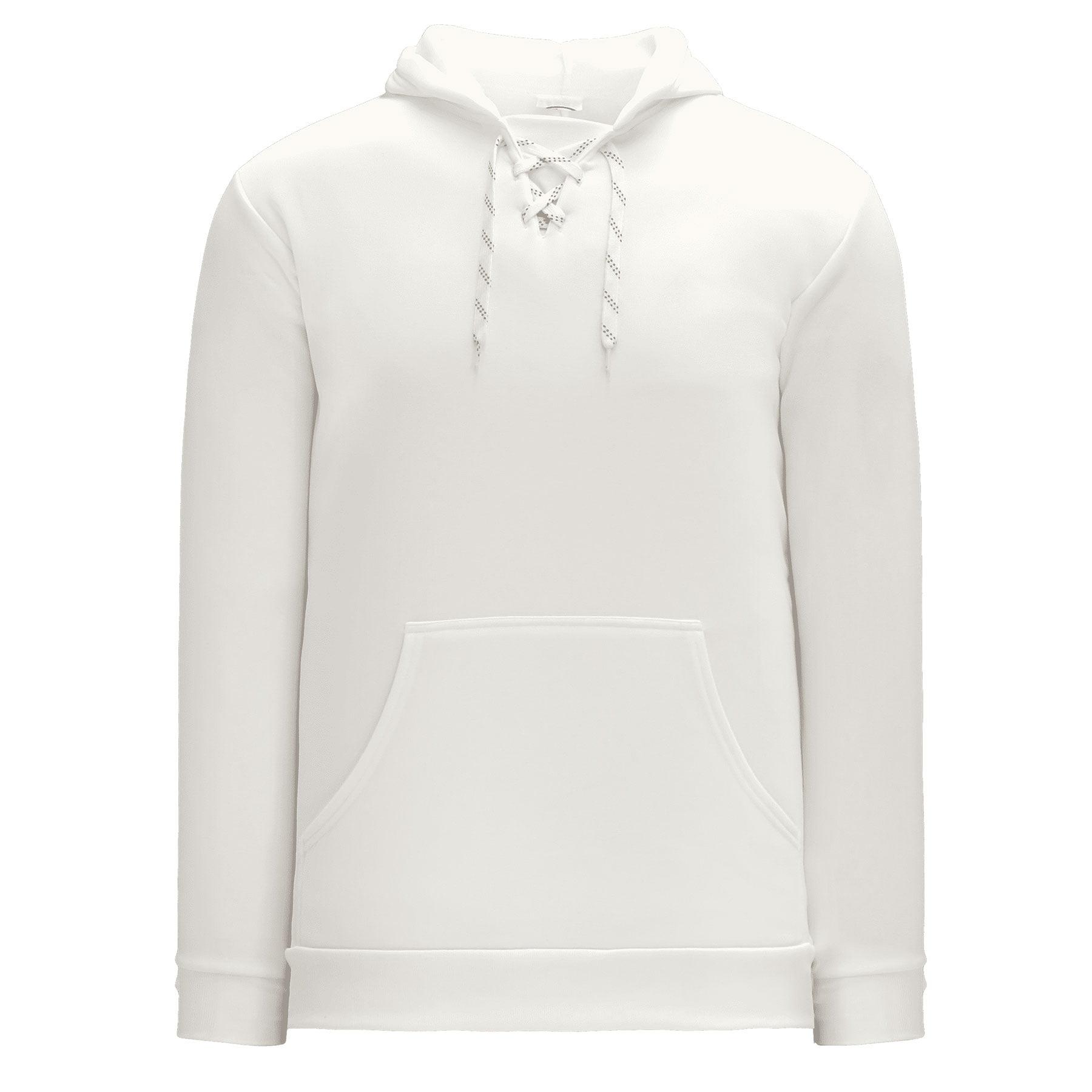 Skate Lace Athletic Kangaroo Hoodie - White - Athletic Knit - image 1 of 1