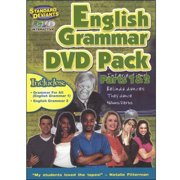 Standard Deviants: English Grammar Pack, Parts 1 And 2 by