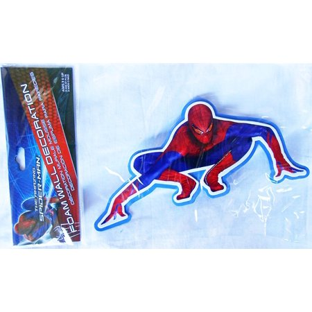 3D Spider-man Foam Wall Decoration, Official Licensed Marvel Product By (Official Spider)