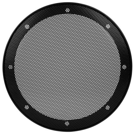 "Parts Express 260-446 6-1/2"" Car Type Steel Mesh 2-Piece Speaker Grill with Plastic Mounting Ring"
