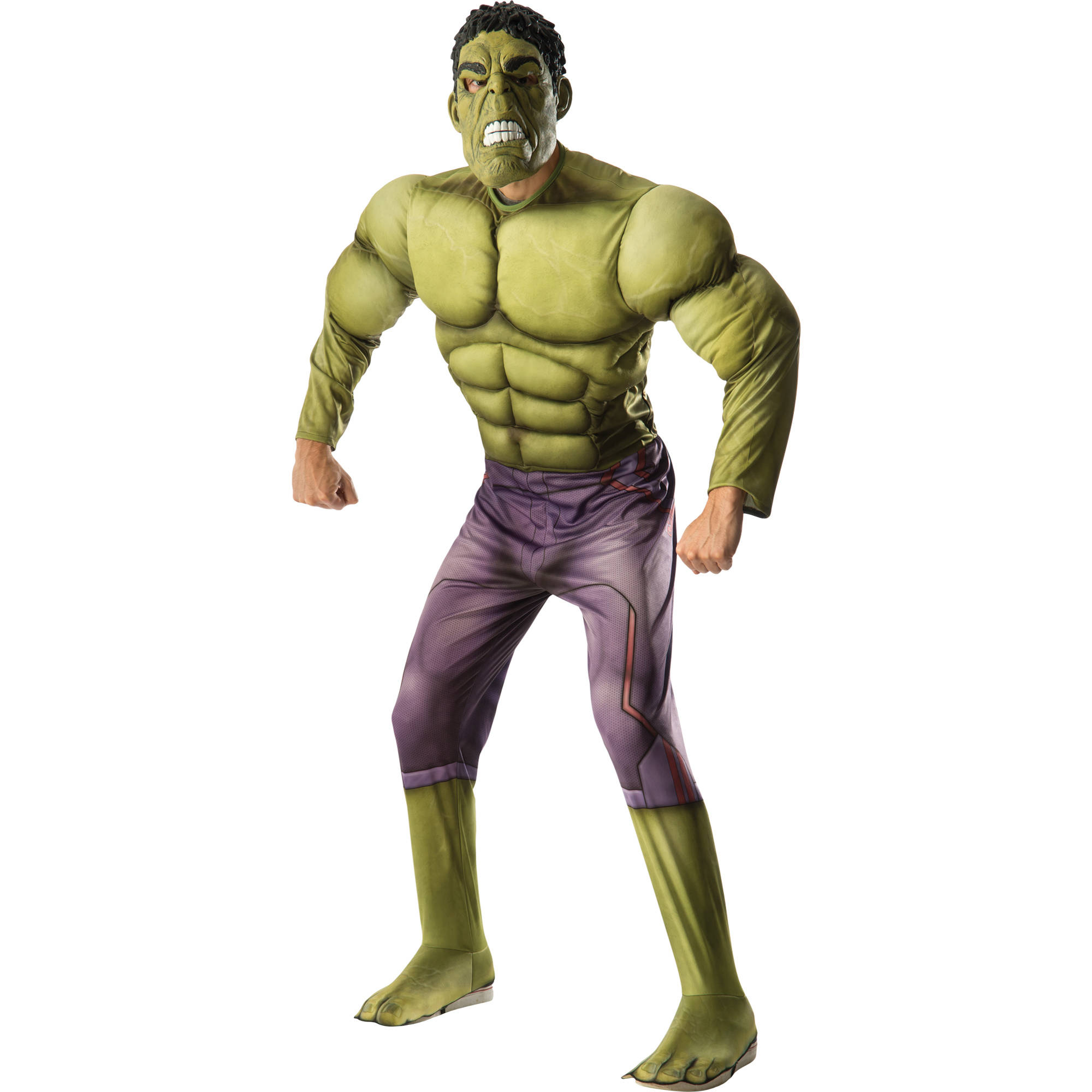 Hulk Muscle Adult Halloween Costume