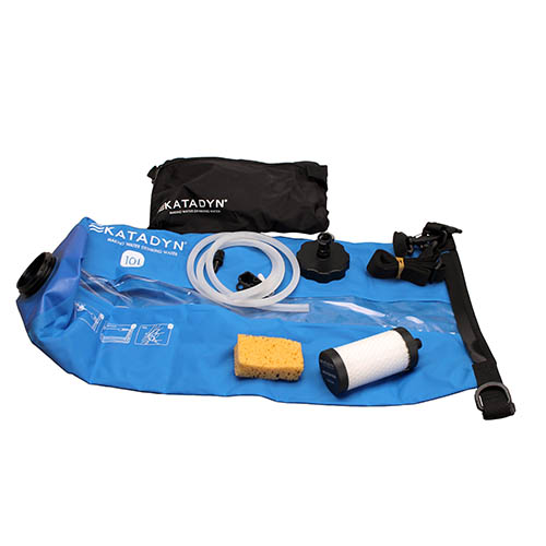 Click here to buy Katadyn Base Camp Pro 10L SKU: 8019201 with Elite Tactical Cloth by Katadyn.