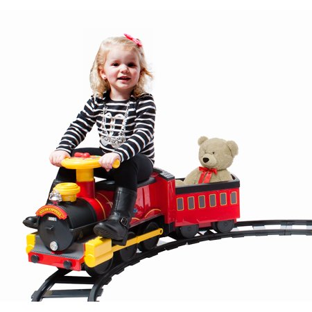 Rollplay Steam Train 6 Volt Battery Ride-On Toy (Best Ride On Toys For 8 Year Olds)