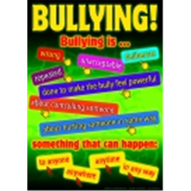Didax Bullying In A Cyber World Posters, Grades 5-8