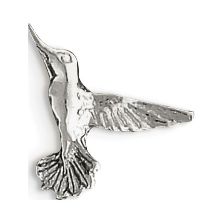 Leslies Fine Jewelry Designer 925 Sterling Silver Hummingbird (20x18mm) Pendant Gift