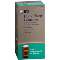 2 Pack - BD Home Sharps Container 1 Each