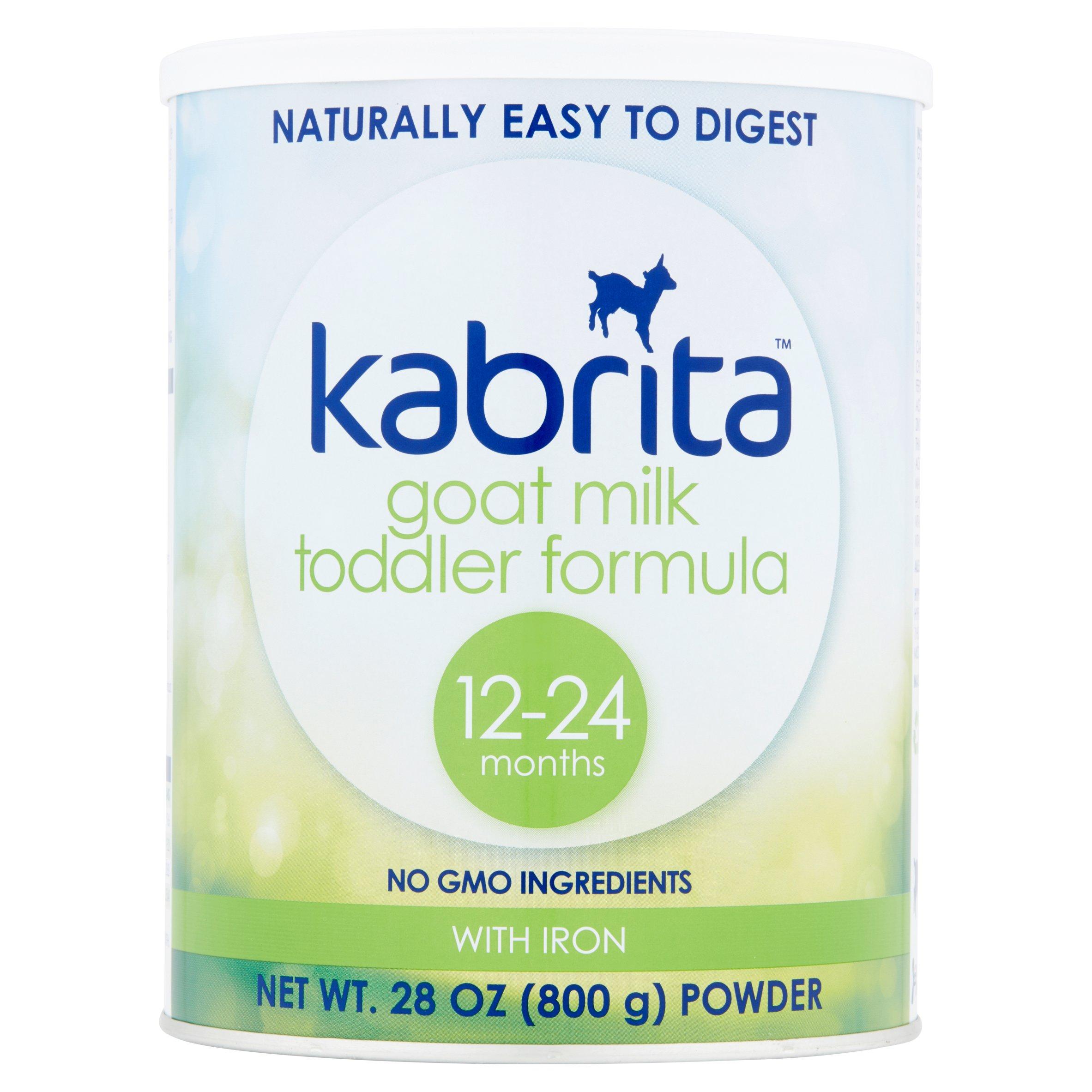 Kabrita Goat Milk Formula, Powder, Non-GMO, Natural and Gentle, 28 oz (Pack of 6) by Kabrita