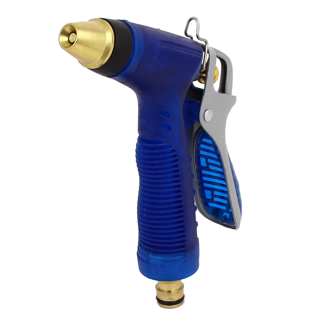 Car Cleaning Rear Control Hose Spray  Nozzle Sprayer Water Fitting Blue