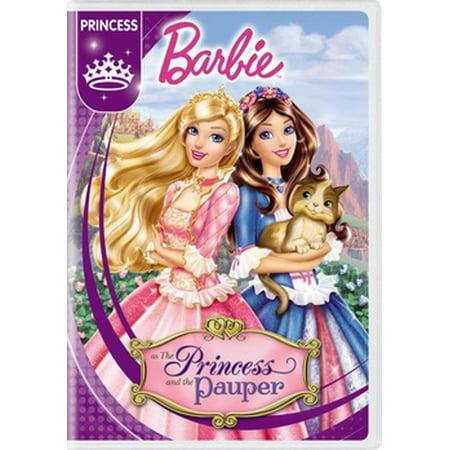 Barbie as the Princess & the Pauper (DVD) Barbie The Princess And The Pauper