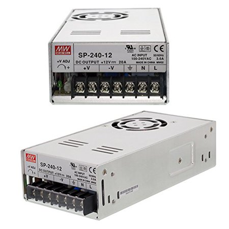 264v Switch - MeanWell MW Switching Power Supply SP-240-12 12V 20A 240W AC88~264V 190x93x50mm