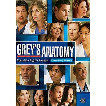 Barco Greys Anatomy - Grey's Anatomy: Complete Eighth Season (DVD)