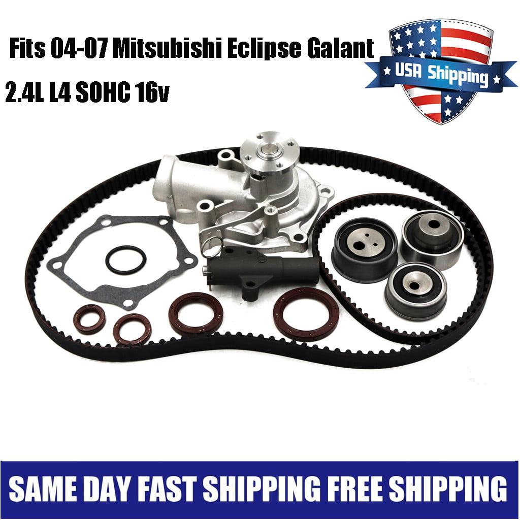 Timing Belt Kit Fit 04-07 Mitsubishi Eclipse Galant Outlander Lancer 2.4 4G69