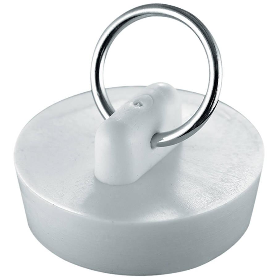 "Plumb Craft Waxman 7512200T 1-1/4"" White Basin Stopper"