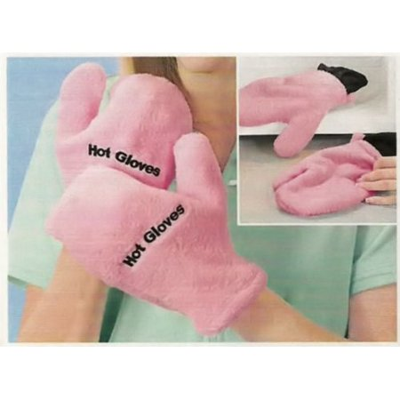 - MICROWAVE THERAPEUTIC HOT/COLD GLOVES - PINK BY JUMBL