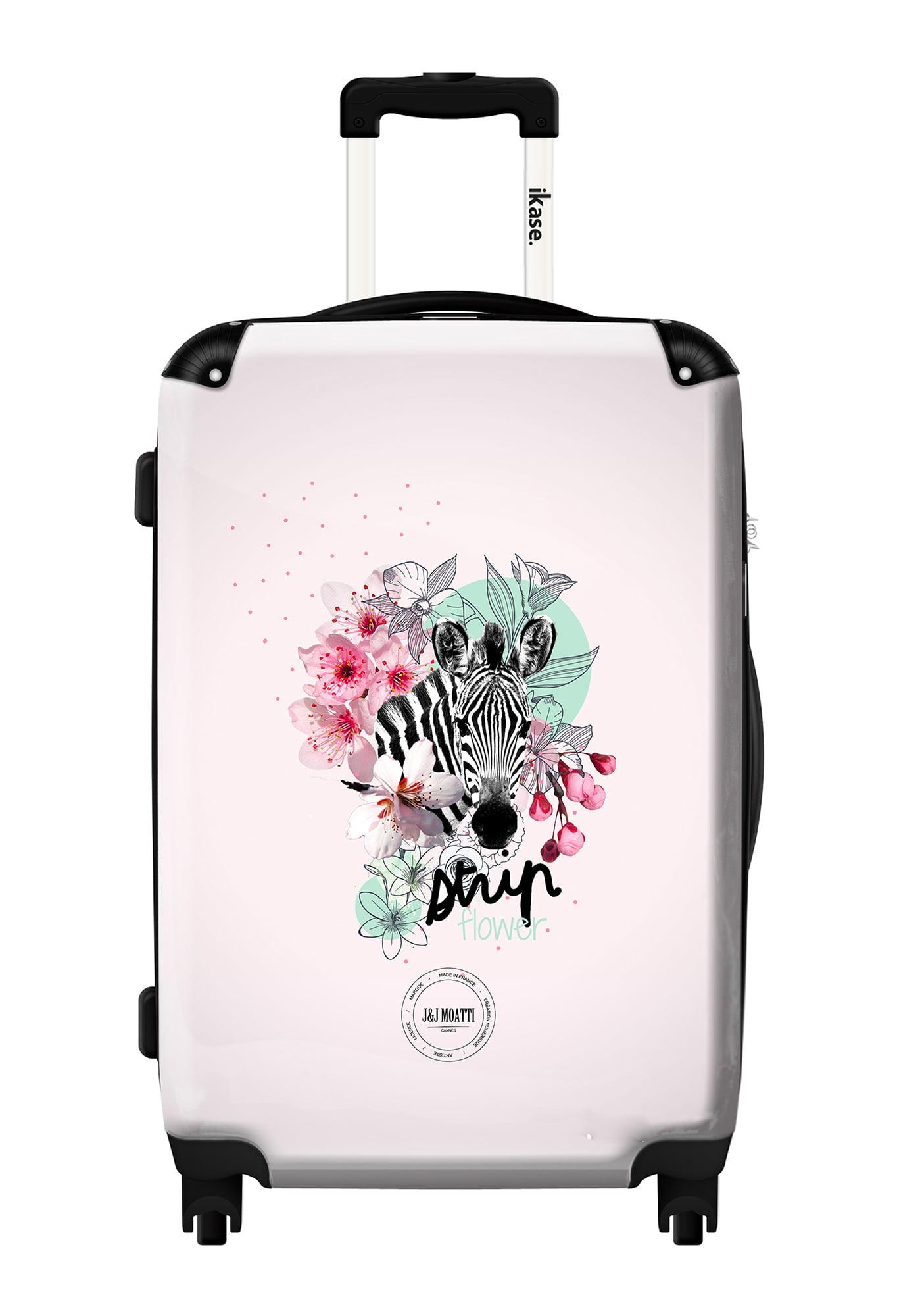 Ikase Hardside Spinner Luggage Skull mouse