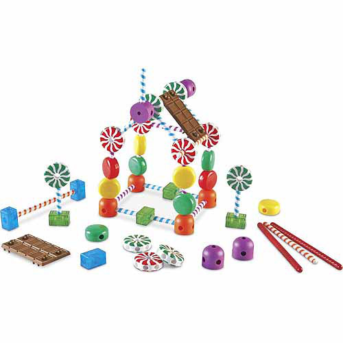 Learning Resources Candy Construction Set, 92 Pieces