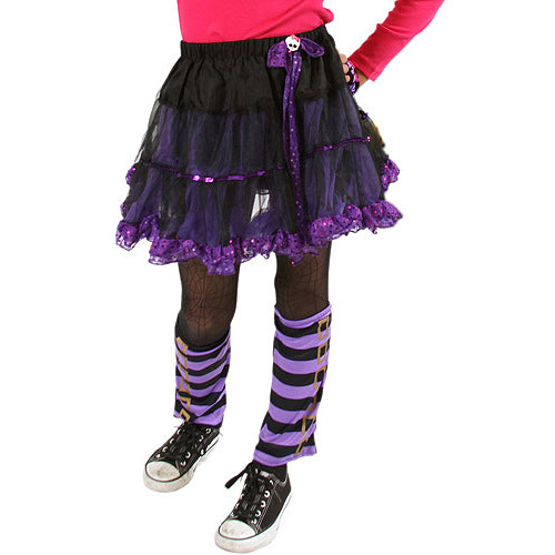 Monster High Petti Skirt, Purple Allover