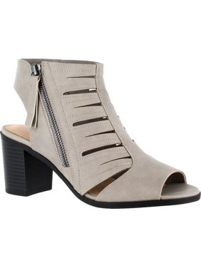 f24b7f102542 Product Image easy street womens karlie peep toe ankle strap mules mules
