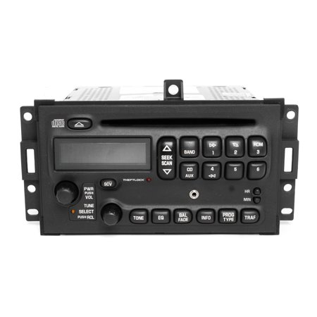 Pontiac Grand Prix 2004-2008 AM FM CD Player Radio w Aux Input U1P - 10352018 -