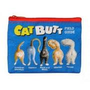 "Coin Purse - Blue Q - Cat Butts 4x3"" Wallet Bag QA527"