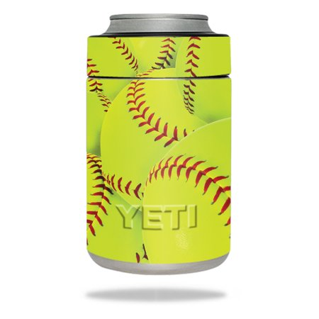 MightySkins Protective Vinyl Skin Decal for YETI Rambler Colster wrap cover sticker skins Softball